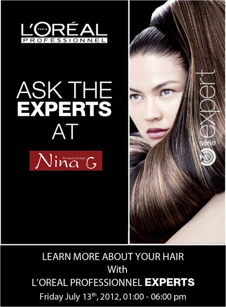 Nina g salon in lahore pakistan for Nina g salon lahore